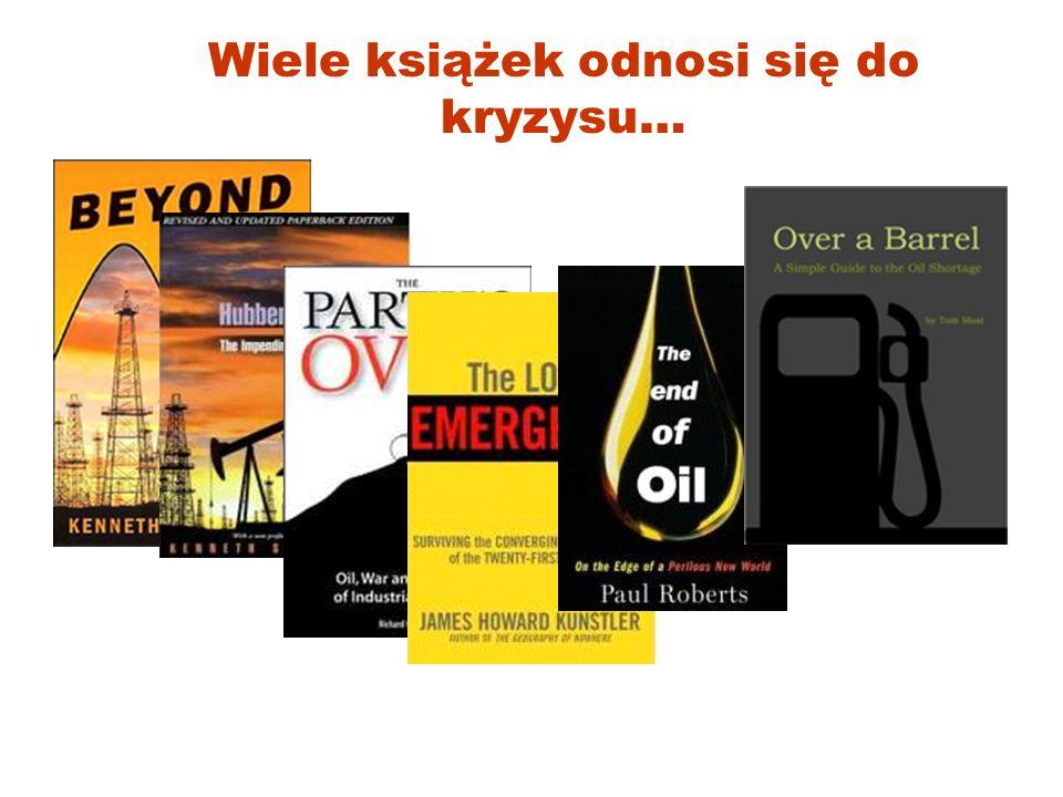 Wiele książek odnosi się do kryzysu…