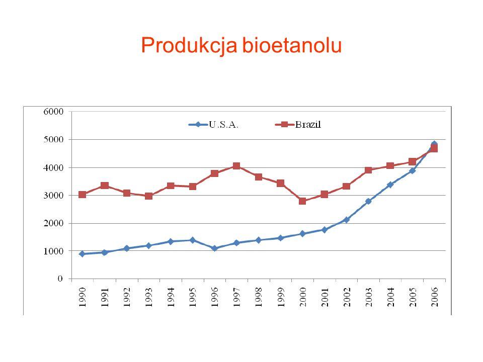 Produkcja bioetanolu