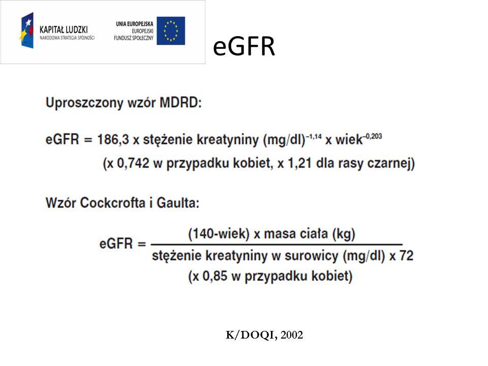 eGFR K/DOQI, 2002