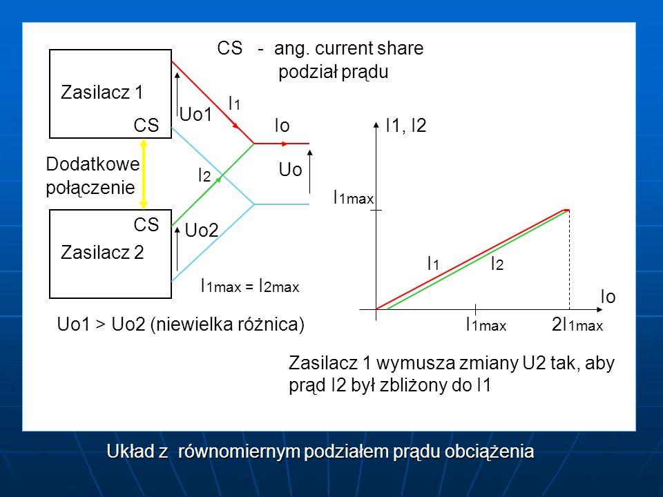 Układ z równomiernym podziałem prądu obciążenia