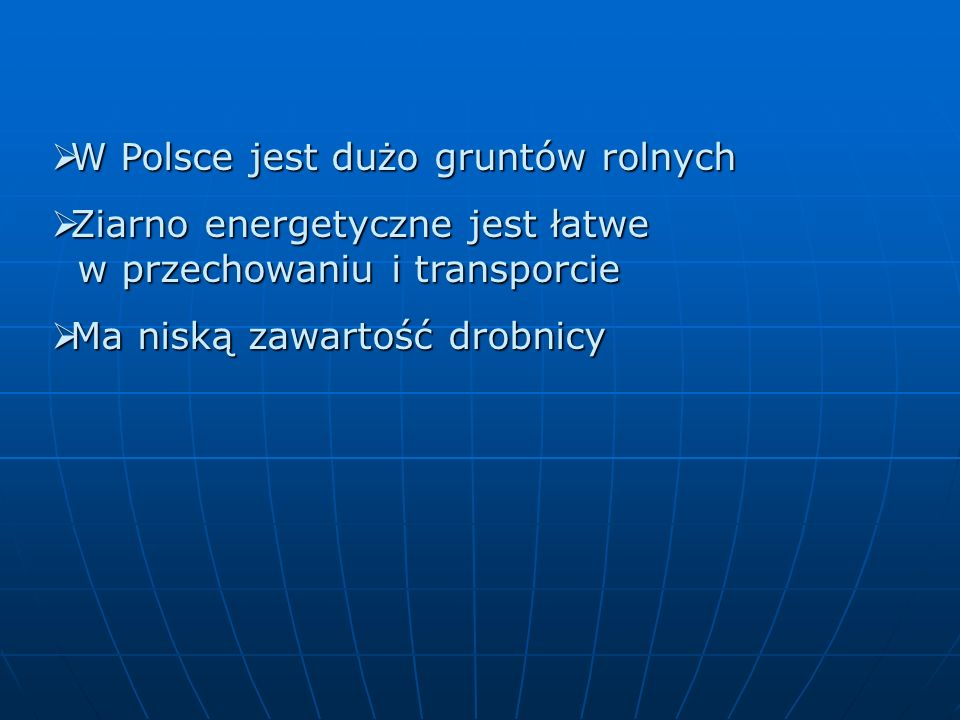 W Polsce jest dużo gruntów rolnych