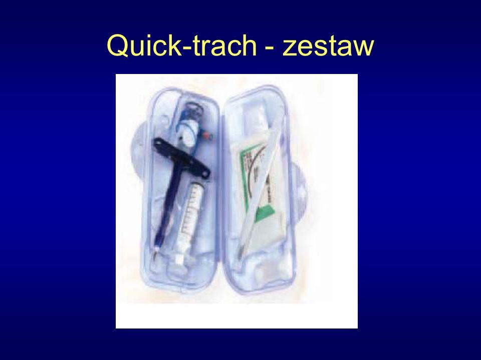 Quick-trach - zestaw