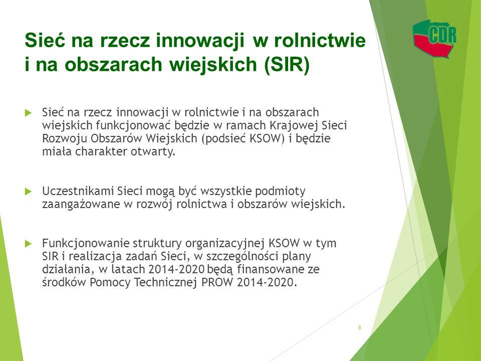 Sieć na rzecz innowacji w rolnictwie i na obszarach wiejskich (SIR)