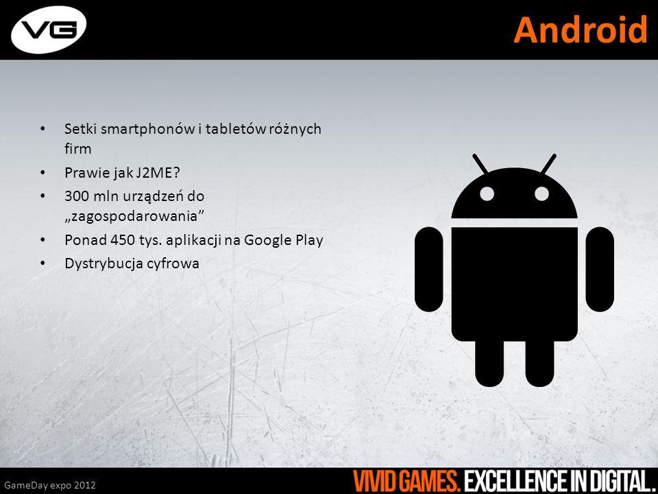 Android Setki smartphonów i tabletów różnych firm Prawie jak J2ME