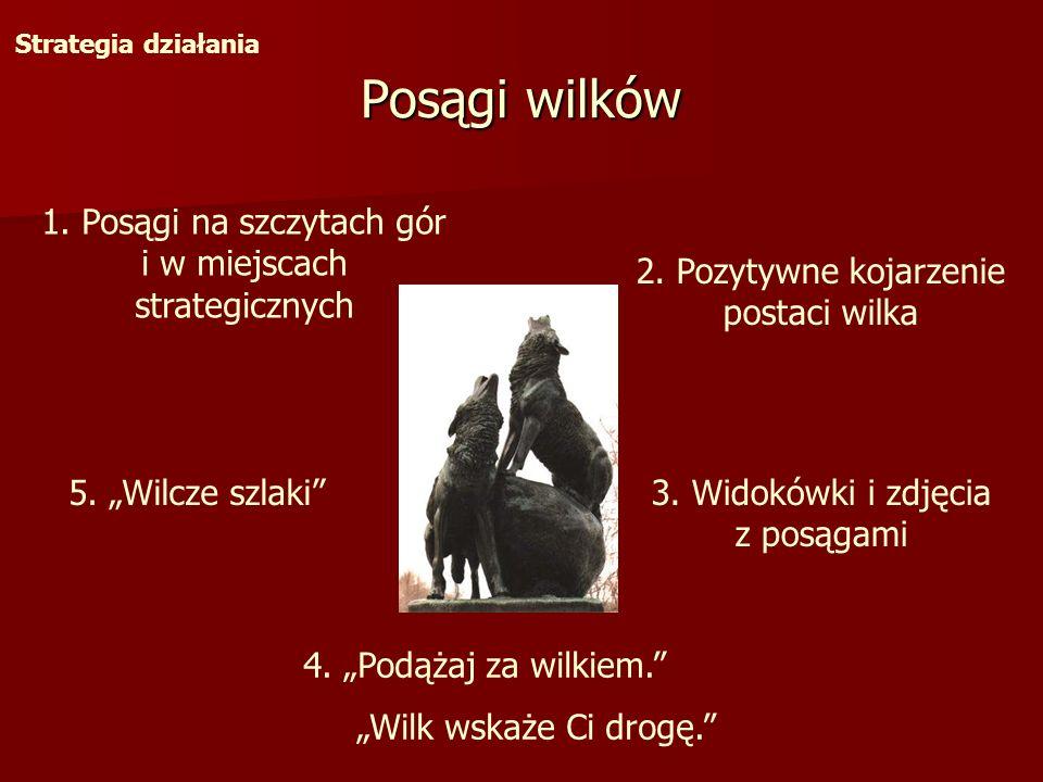 Posągi wilków 1. Posągi na szczytach gór i w miejscach strategicznych