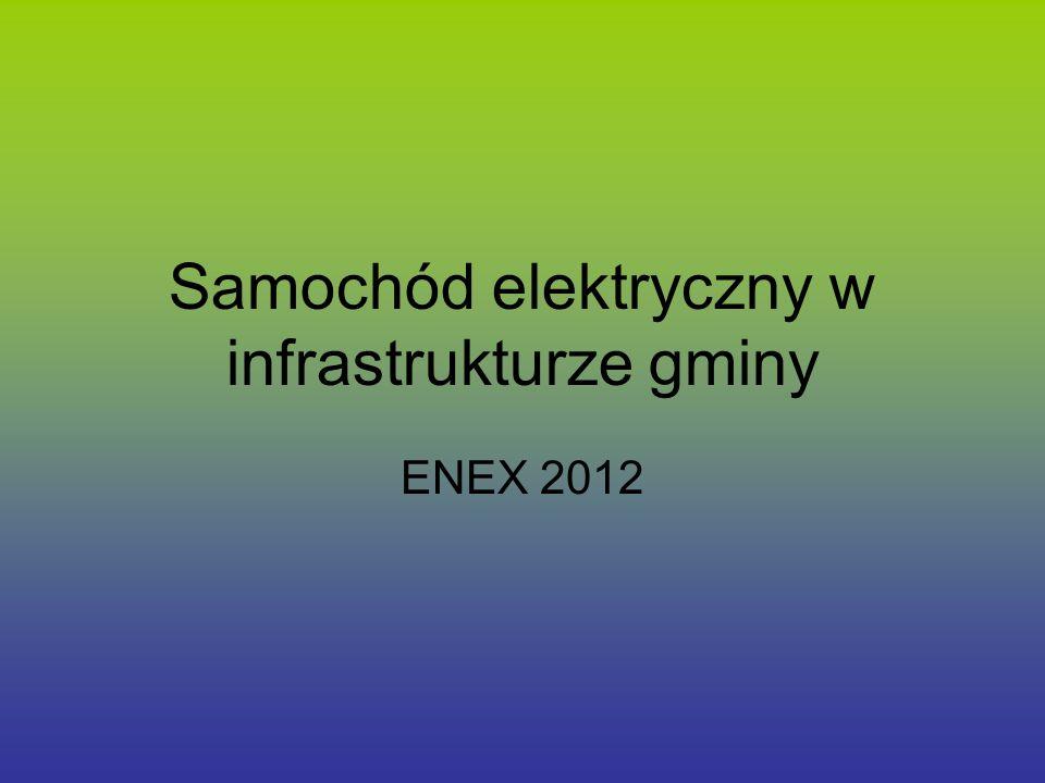 Samochód elektryczny w infrastrukturze gminy