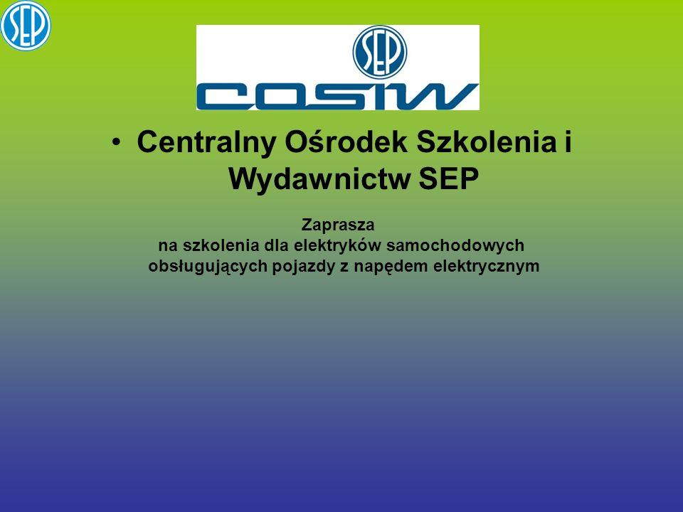 Centralny Ośrodek Szkolenia i Wydawnictw SEP
