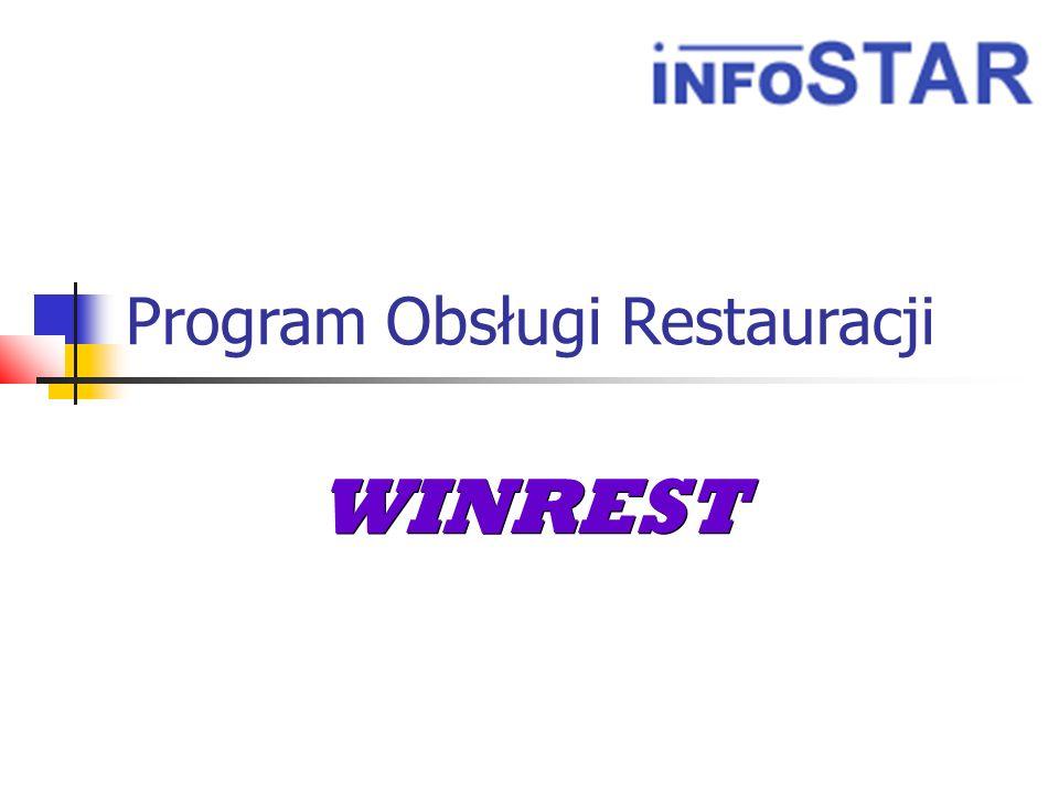 Program Obsługi Restauracji