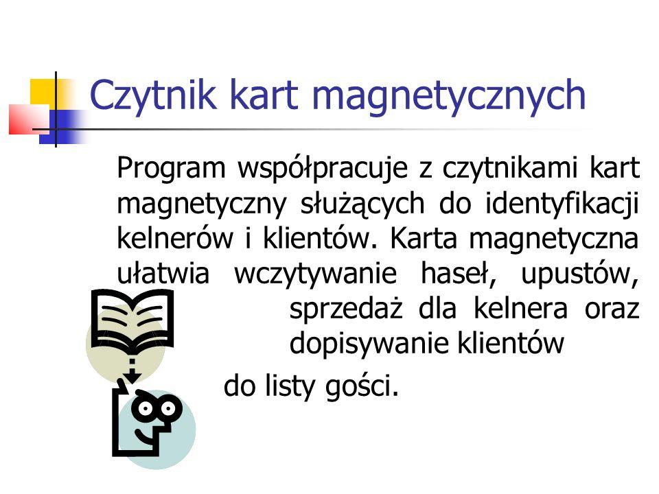 Czytnik kart magnetycznych
