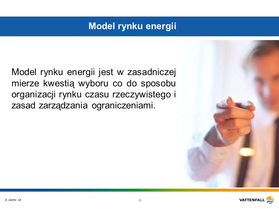 Model rynku energii