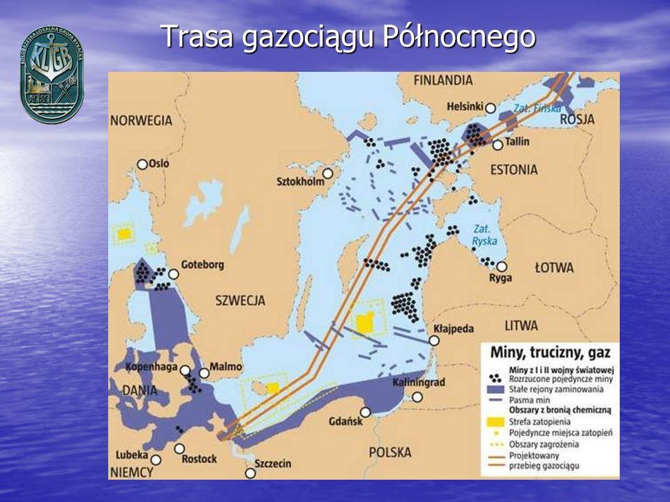 Trasa gazociągu Północnego
