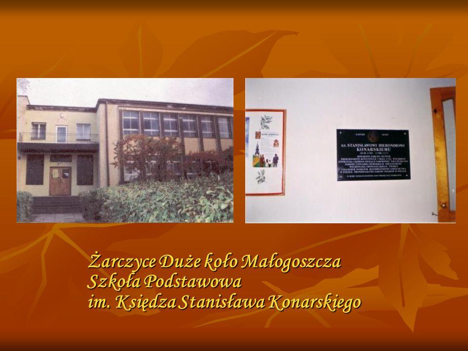 Żarczyce Duże koło Małogoszcza Szkoła Podstawowa im