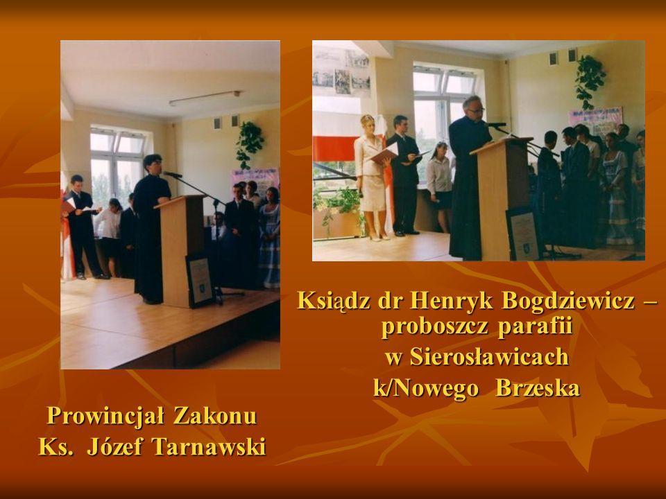Ksiądz dr Henryk Bogdziewicz – proboszcz parafii