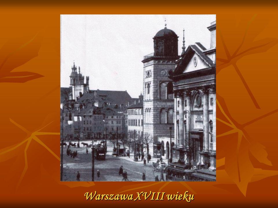Warszawa XVIII wieku