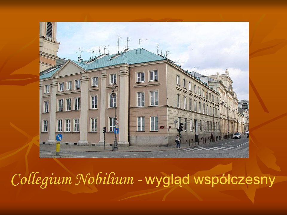 Collegium Nobilium - wygląd współczesny