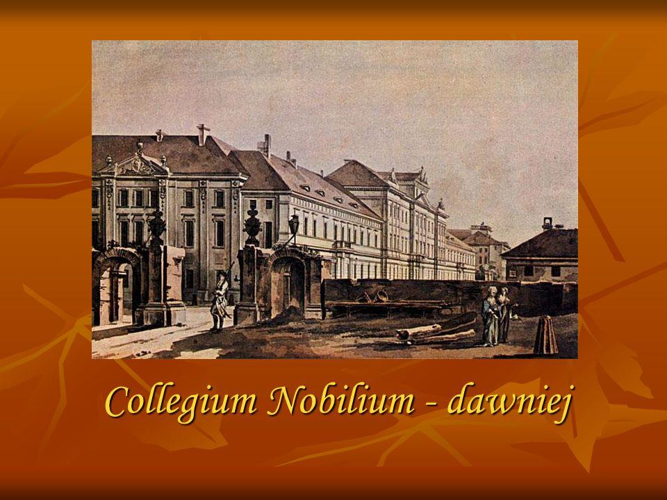 Collegium Nobilium - dawniej