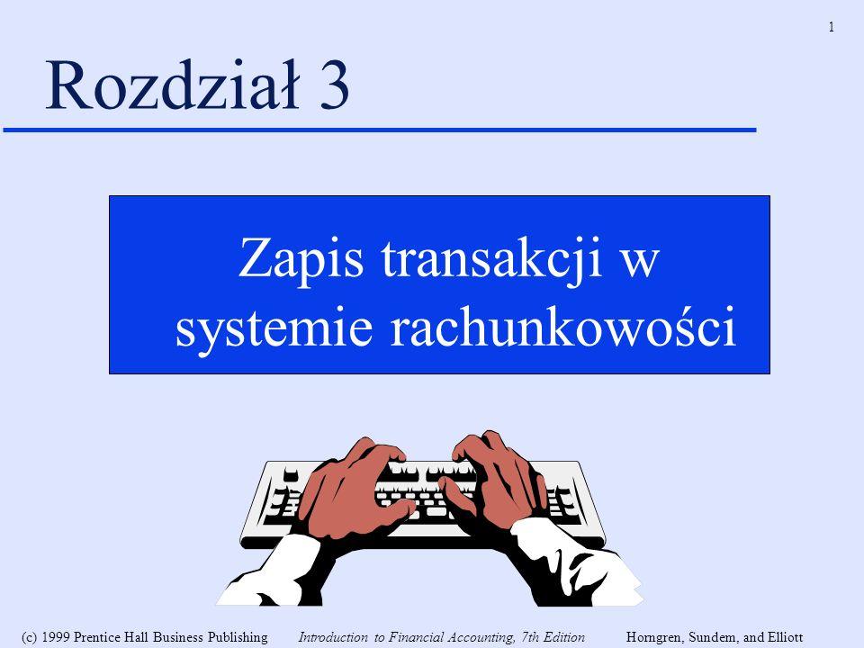 systemie rachunkowości