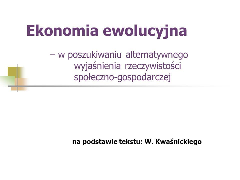 na podstawie tekstu: W. Kwaśnickiego