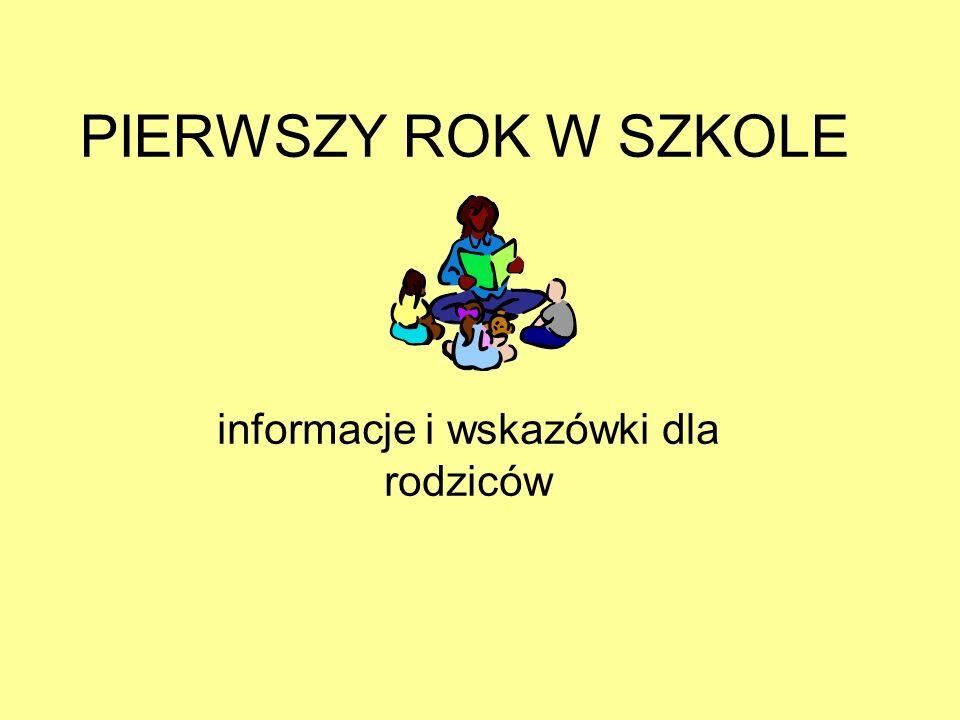informacje i wskazówki dla rodziców