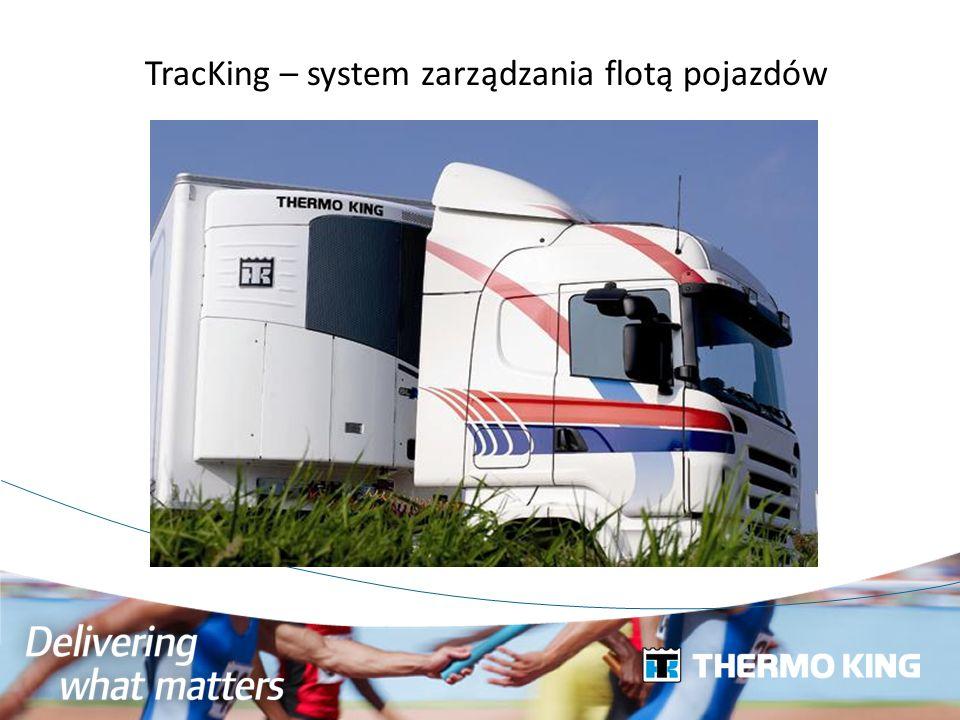 TracKing – system zarządzania flotą pojazdów