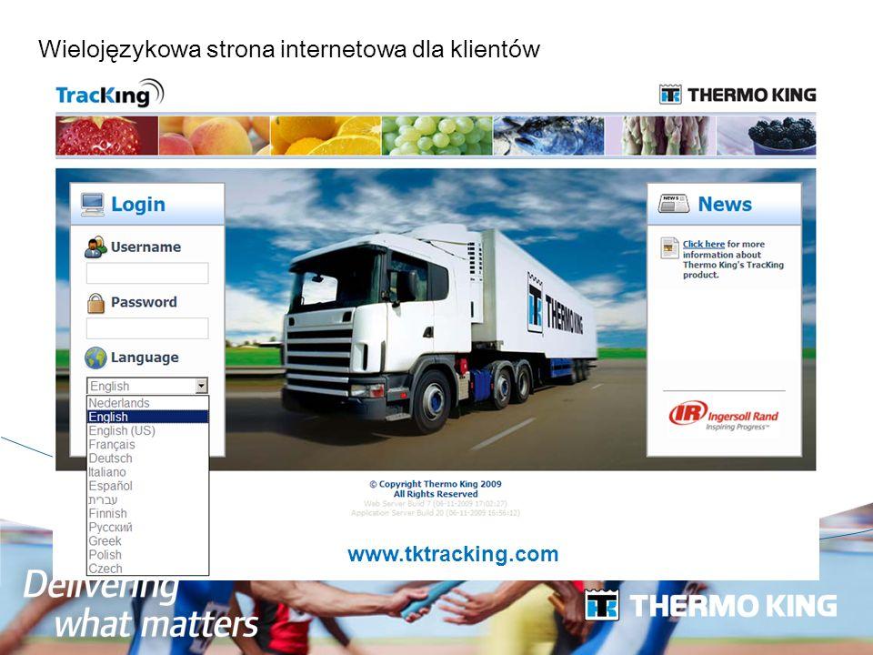 Wielojęzykowa strona internetowa dla klientów