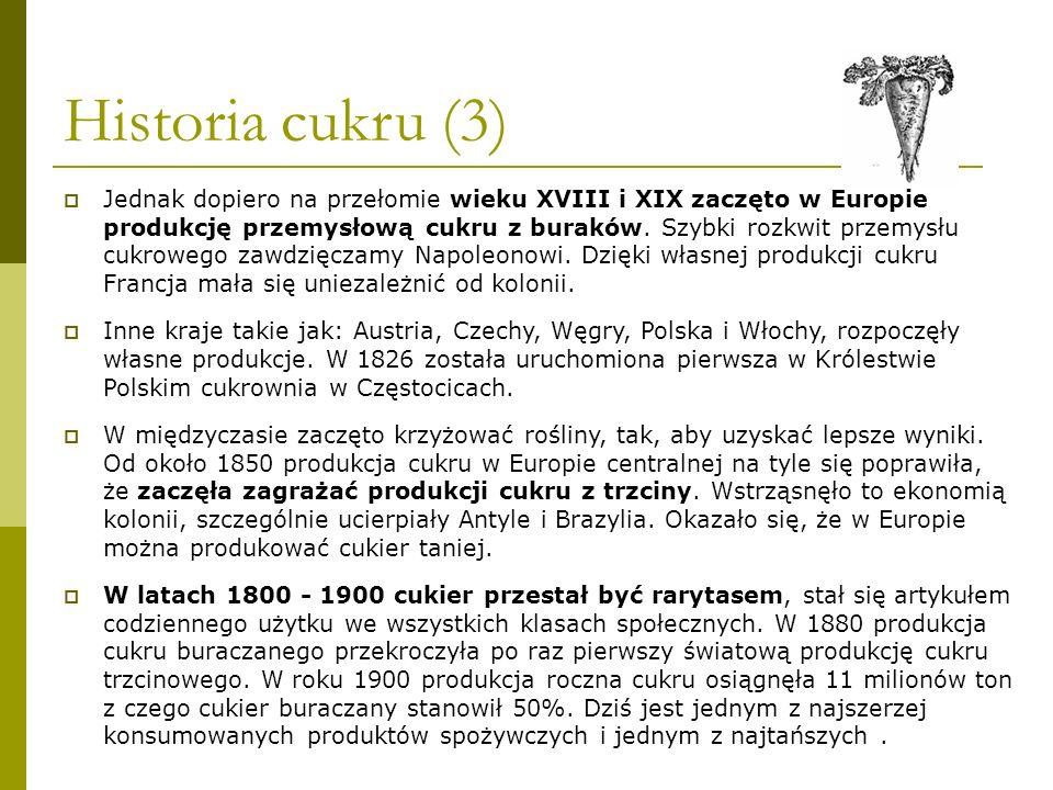 Historia cukru (3)