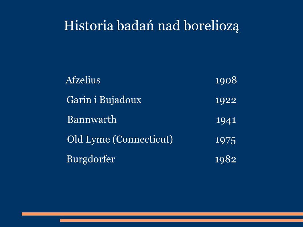 Historia badań nad boreliozą