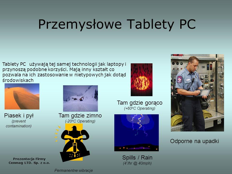 Przemysłowe Tablety PC