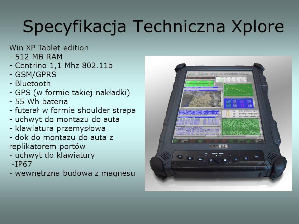 Specyfikacja Techniczna Xplore