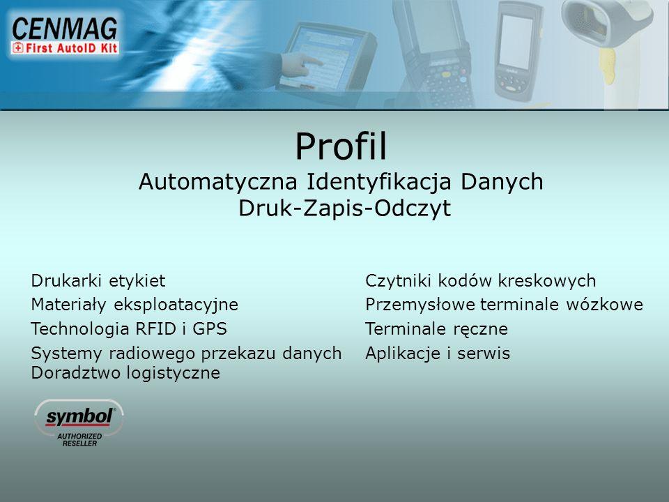 Profil Automatyczna Identyfikacja Danych Druk-Zapis-Odczyt