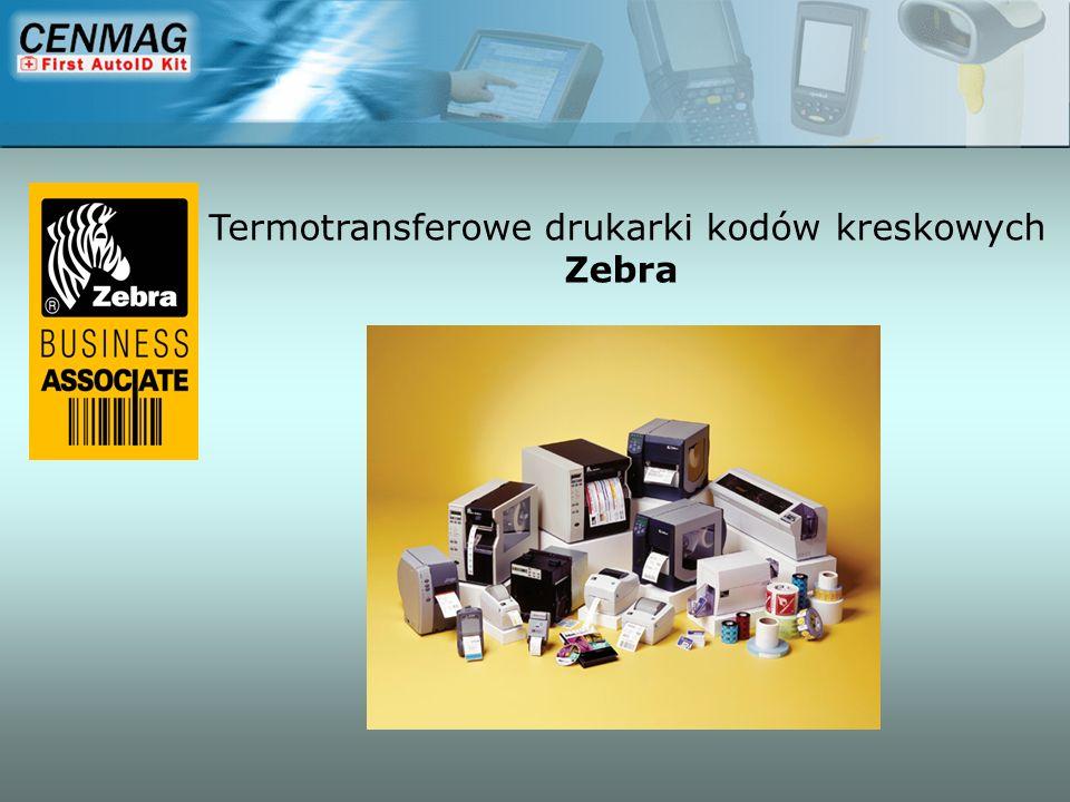 Termotransferowe drukarki kodów kreskowych Zebra