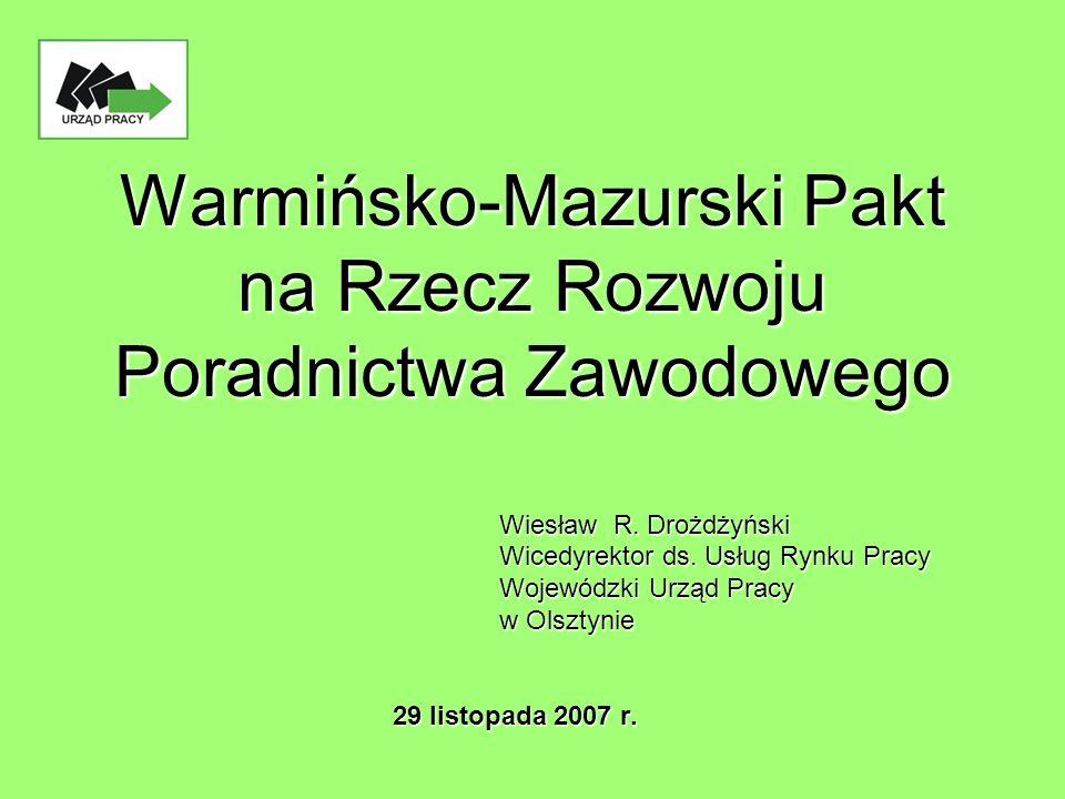 Warmińsko-Mazurski Pakt na Rzecz Rozwoju Poradnictwa Zawodowego