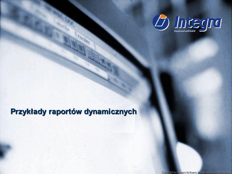 Przykłady raportów dynamicznych