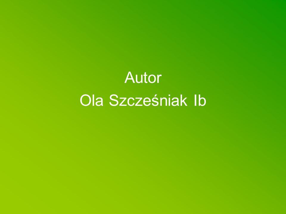 Autor Ola Szcześniak Ib