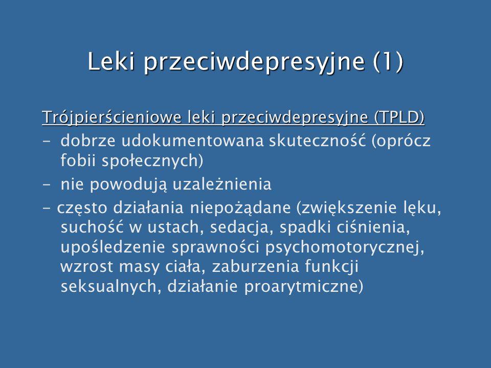 Leki przeciwdepresyjne (1)