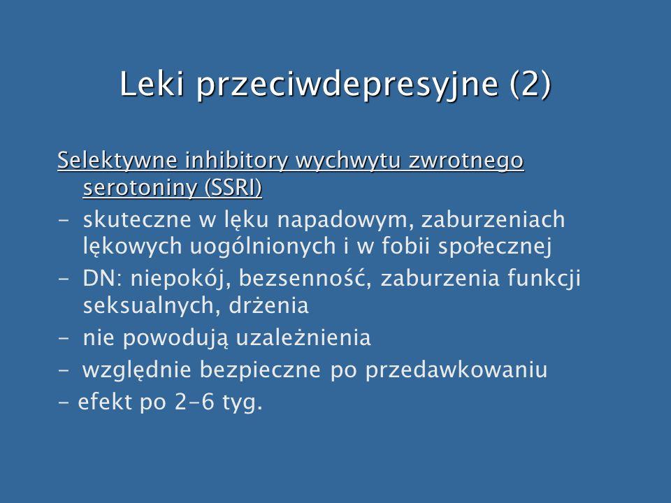 Leki przeciwdepresyjne (2)