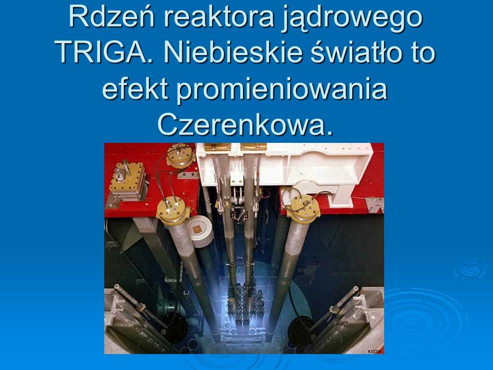 Rdzeń reaktora jądrowego TRIGA