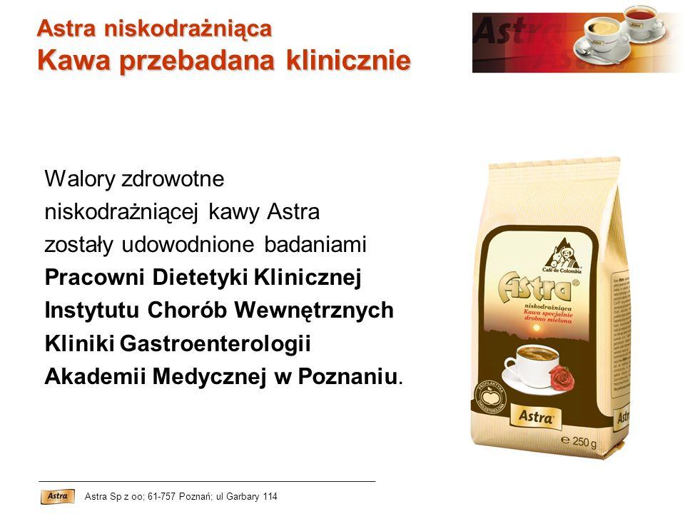 Kawa przebadana klinicznie