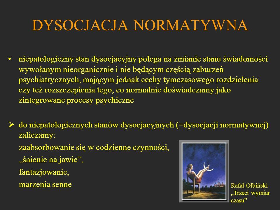 DYSOCJACJA NORMATYWNA