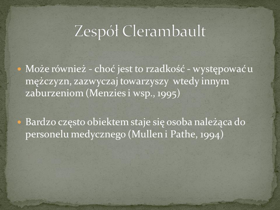 Zespół Clerambault