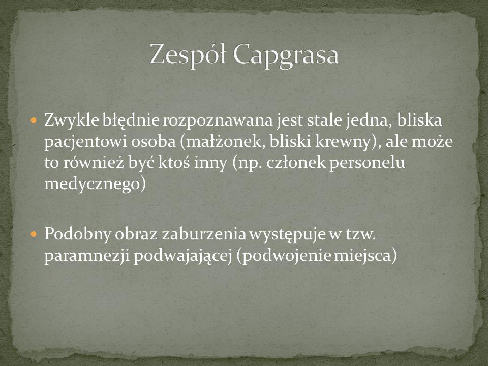 Zespół Capgrasa