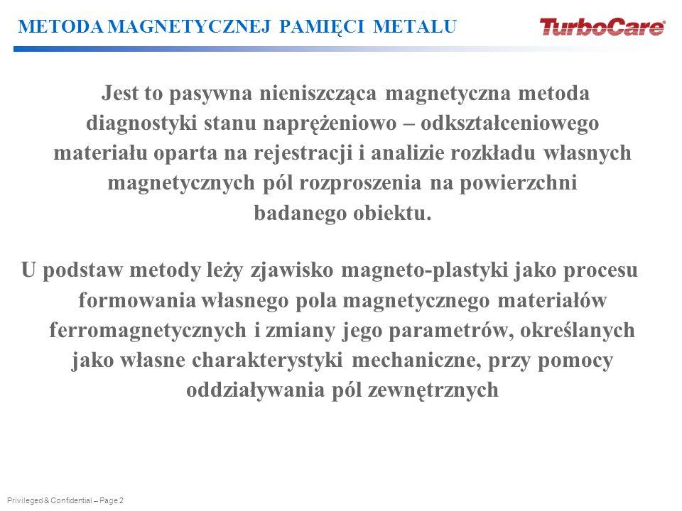 METODA MAGNETYCZNEJ PAMIĘCI METALU