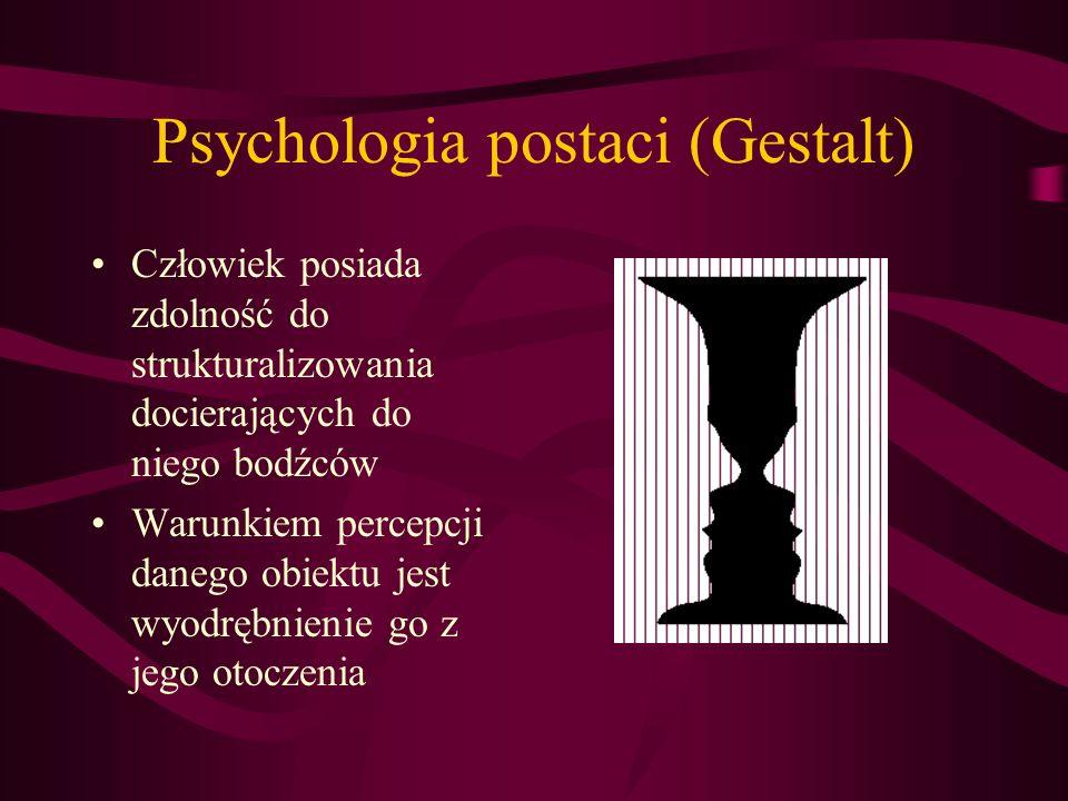 Psychologia postaci (Gestalt)