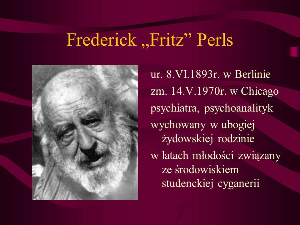 "Frederick ""Fritz Perls"
