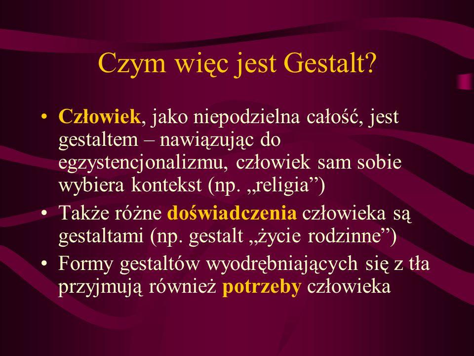 Czym więc jest Gestalt