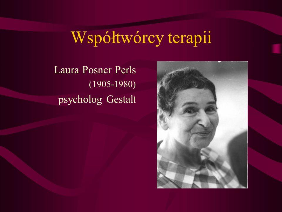 Współtwórcy terapii Laura Posner Perls (1905-1980) psycholog Gestalt