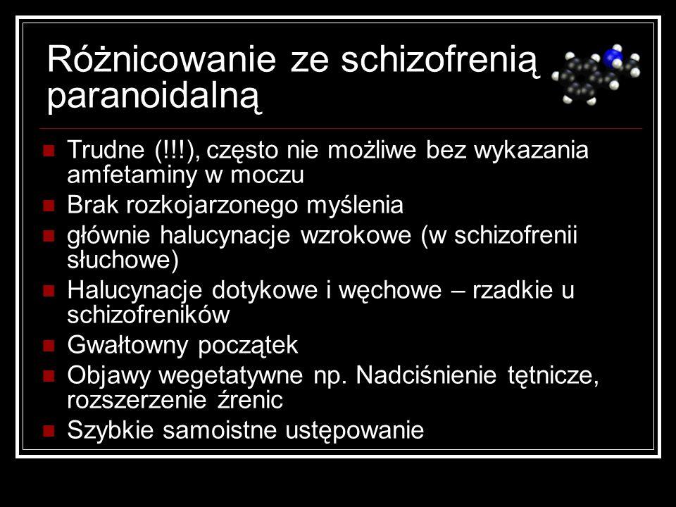 Różnicowanie ze schizofrenią paranoidalną