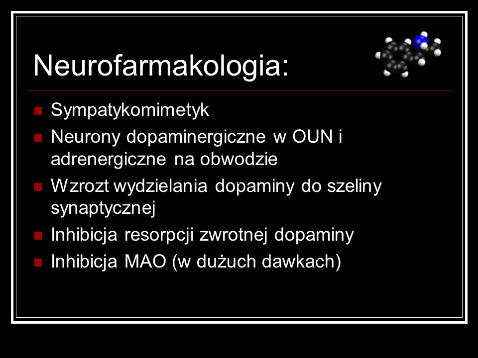Neurofarmakologia: Sympatykomimetyk