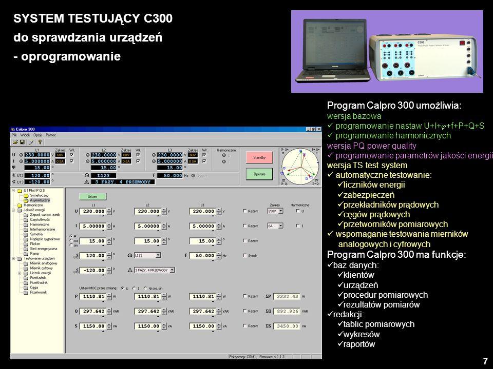 do sprawdzania urządzeń - oprogramowanie