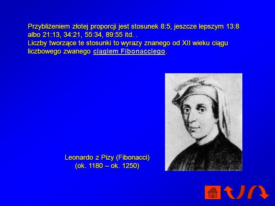 Leonardo z Pizy (Fibonacci) (ok. 1180 – ok. 1250)